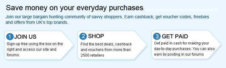 new concept 481f9 53f82 Cashback, Vouchers and Deals at Rpoints  UK s Freebie and Deals Forum